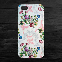 Floral Printed Flower iPhone 4 and 5 Case