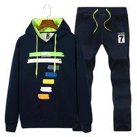 Hooded Sweat Suit ~ Big Man sizes Available M-4XL