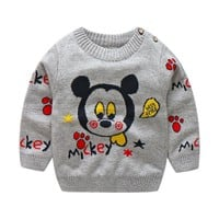 Hot sale Hello KT! baby girls and boys autumn/winter wear girls and boys sweater children clothing baby sweater 3 colors