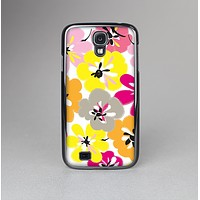 The Bright Summer Brushed Flowers  Skin-Sert Case for the Samsung Galaxy S4