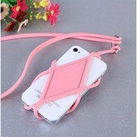 Multifunctional mobile phone protective cover long rope