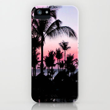 Pink Sunset iPhone & iPod Case by Laura Nappi