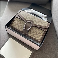 GUCCI Dionysus GG top handle bag