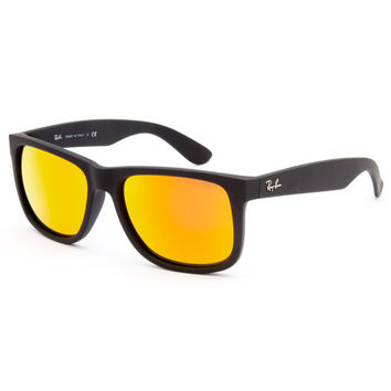 Ray-Ban Justin Sunglasses Black/Combo One Size For Men 25842714901