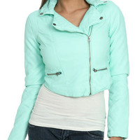 Quilted Moto Jacket | Shop Sale at Wet Seal