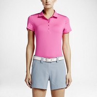 The Nike Gingham Mix Women's Golf Polo.