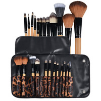 12-piece Set Makeup Brushes with Pouch Bag