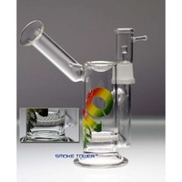 """7"""" Bio Turret Concentrate Bubbler with Honeycomb Disc"""