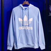 ADIDAS Women Man Fashion Print Long Sleeve Top Sweater Pullover Hoodie  G-A-GHSY-1