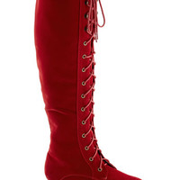 Everything Bold Is New Boot in Red | Mod Retro Vintage Boots | ModCloth.com