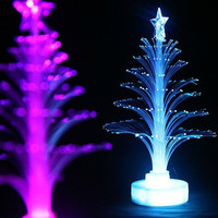 Christmas tree fiber optic light colorful light emitting the flowers three-dimensional christmas tree decoration gift = 1946108420