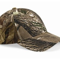 Realtree Mid-profile Camouflage Cap, Color: Realtree All Purpose, Size: One Size