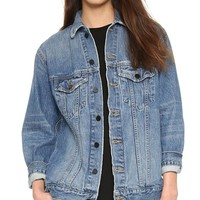 Daze Oversized Denim Jacket