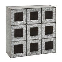 Most Useful Metal 9 Drawers By Woodland Import