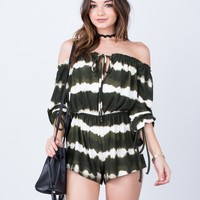 Fun and Frilly Tie-Dye Romper