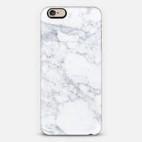 Marble white iPhone 6s case by Fauzi Putra | Casetify