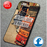 Vintage Travel Quote  for iphone, ipod, samsung galaxy, HTC and Nexus PHONE CASE