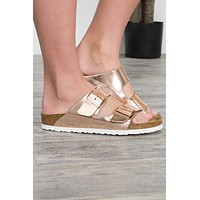 Arizona Leather Birkenstock | Metallic Copper| Best Seller