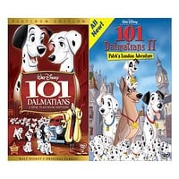 Walt Disney's 101 Dalmatians 1&2 DVD Set 2 Movie Collection