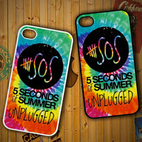 5SOS V0285 LG G2 G3, Nexus 4 5, Xperia Z2, iPhone 4S 5S 5C 6 6 Plus, iPod 4 5 Case