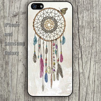 dream catcher colorful iphone 6 6 plus iPhone 5 5S 5C case Samsung S3,S4,S5 case Ipod Silicone plastic Phone cover Waterproof