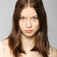 Draped Goddess Chain Headwrap - Urban Outfitters