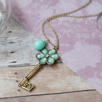 purity of mind key pendant necklace - $12.99 : ShopRuche.com, Vintage Inspired Clothing, Affordable Clothes, Eco friendly Fashion