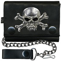 Count Dracula Leather Wallet