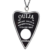 Ouija Board Planchette Pointer Pendant Necklace