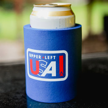 Upper Left Koozie
