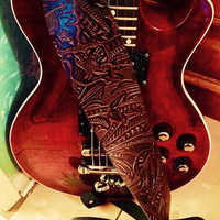 Guitar Strap from REAL LEATHER
