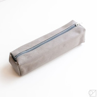 DELFONICS Mareku Box Pencil Case Grey