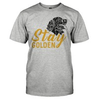 Stay Golden (Retriever) - T Shirt