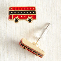 Scholastic On the Double! Earrings by ModCloth