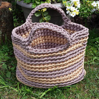 "Original Handbag ""TAKE BAG"", Marketbag, Bag on Shoulder, Handmade bag, Sea Side Bag"