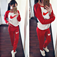 Women'S Sport Suits 2016 Brand New Tracksuit For Women Sweatshirt And Joggers Sets Plus Size Autumn Winter Coat Svitshot Hoodie