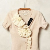 Corsage Sweater Jacket by Anthropologie