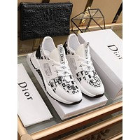 dior fashion men womens casual running sport shoes sneakers slipper sandals high heels shoes 224