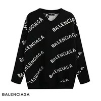 BALENCIAGA full logo knit sweater