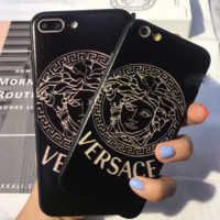 Versace Hollow out iPhone Phone Cover Case For iphone 6 6s 6plus 6s-plus 7 7plus