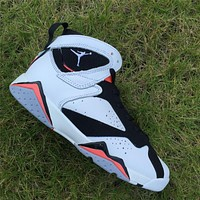 Air Jordan 7 Hot Lava GS Basketball Shoes 36-47