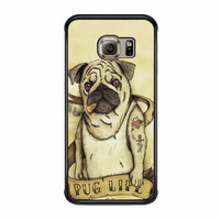 Funny Pug Life Samsung Galaxy S6 Edge Plus Case