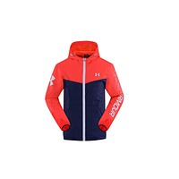 Under Armor new men's tide new sports windbreaker