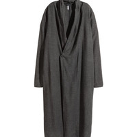 Coat in a linen blend - from H&M