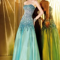 Beaded Net Gown by Alyce Prom