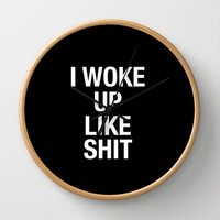Quote Wall Clock by Trend | Society6