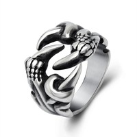 Jewelry New Arrival Gift Shiny Stylish Vintage Titanium Men Fashion Strong Character Ring [6526803011]