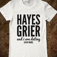 HAYES GRIER AND I ARE DATING (IN MY MIND) T-SHIRT (IDC712225)