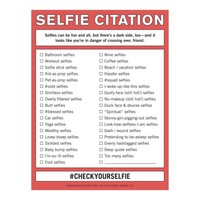 Knock Knock Selfie Citation Nifty Notepads | Free Ship $35+