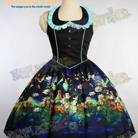 """The Bridge of Bubbles"" Gothic Lolita JSK/Dress*2color Instant shipping"